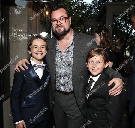 Liam Macdonald, Kristian Bruun and Ethan Tavares