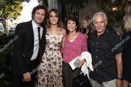 Adam Brody, Leighton Meester, Valerie Siefman and Mark Brody