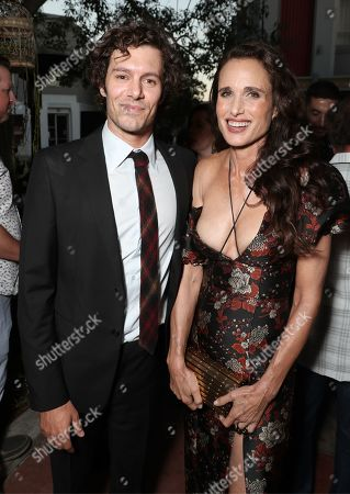 Adam Brody and Andie MacDowell