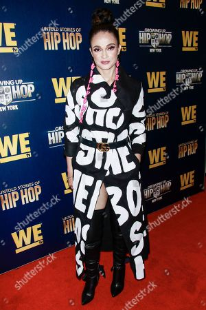 Editorial picture of We TV 'Growing Up Hip Hop' TV Show, Arrivals, The Paley Center For Media, New York, USA - 19 Aug 2019