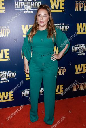 Editorial photo of We TV 'Growing Up Hip Hop' TV Show, Arrivals, The Paley Center For Media, New York, USA - 19 Aug 2019