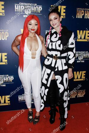 Stock Picture of DJ Siaani and Charli Baltimore