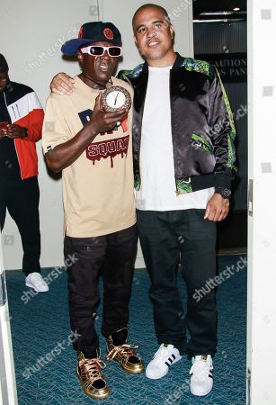 Flavor Flav and Irv Gotti