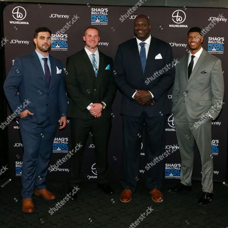 Editorial image of Shaquille O'Neal's Big & Tall Model Search Panel presented by JCPenney, New York, USA - 19 Aug 2019