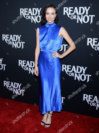 Editorial image of 'Ready or Not' film premiere, Arrivals, ArcLight Cinemas, Los Angeles, USA - 19 Aug 2019