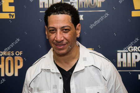 """Stock Picture of Kid Capri attends the premieres of We TV's """"Growing Up Hip Hop: New York"""" and """"Untold Stories of Hip Hop"""" at The Paley Center, in New York"""