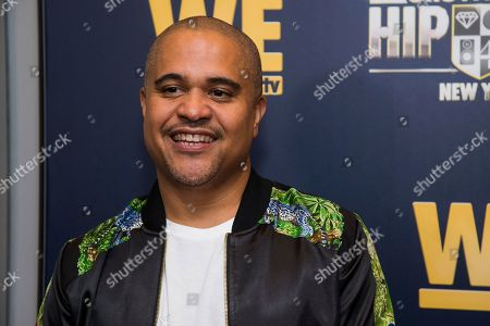 "Irv Gotti attends the premieres of We TV's ""Growing Up Hip Hop: New York"" and ""Untold Stories of Hip Hop"" at The Paley Center, in New York"