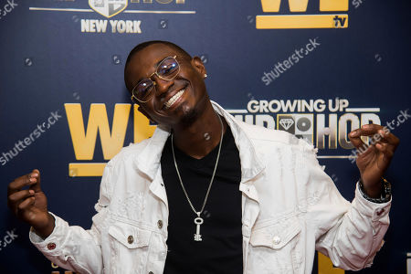 """William Drayton Jr. attends the premieres We TV's """"Growing Up Hip Hop: New York"""" and """"Untold Stories of Hip Hop"""" at The Paley Center, in New York"""