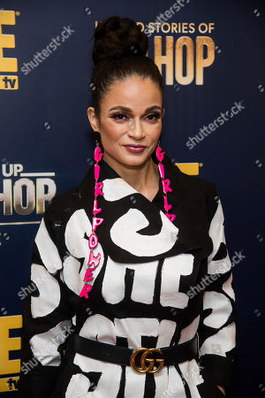 "Charli Baltimore attends the premieres of We TV's ""Growing Up Hip Hop: New York"" and ""Untold Stories of Hip Hop"" at The Paley Center, in New York"