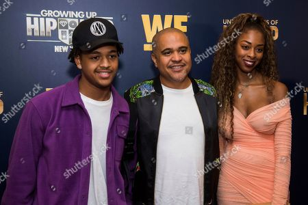 "Stock Picture of JJ Gotti, Irv Gotti, Angie Gotti. JJ Gotti, left, Irv Gotti and Angie Gotti attend the premieres of We TV's ""Growing Up Hip Hop: New York"" and ""Untold Stories of Hip Hop"" at The Paley Center, in New York"