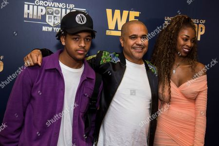 "Stock Image of JJ Gotti, Irv Gotti, Angie Gotti. JJ Gotti, left, Irv Gotti and Angie Gotti attend the premieres of We TV's ""Growing Up Hip Hop: New York"" and ""Untold Stories of Hip Hop"" at The Paley Center, in New York"