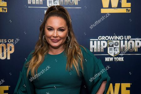 """Angie Martinez attends the premieres of We TV's """"Growing Up Hip Hop: New York"""" and """"Untold Stories of Hip Hop"""" at The Paley Center, in New York"""