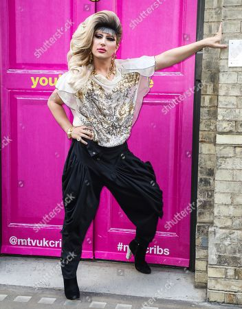 Jodie Harsh attends the Press Launch for MTV Cribs UK.