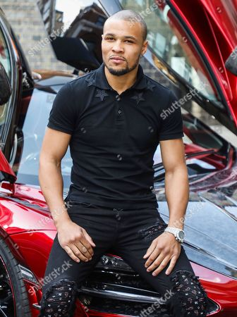 Chris Eubank Jr attends the Press Launch for MTV Cribs UK.