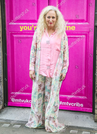 Debbie Douglas attends the Press Launch for MTV Cribs UK.