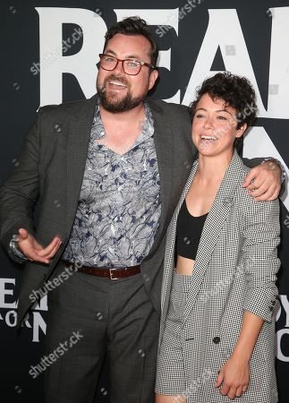 Stock Picture of Kristian Bruun and Tatiana Maslany