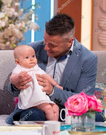 Craig Phillips with Baby Nelly
