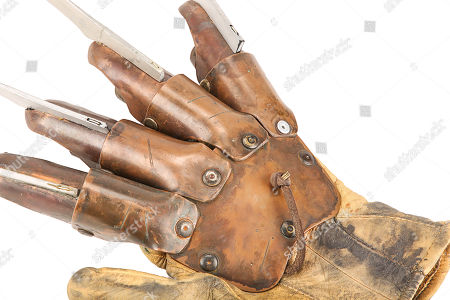 Stock Photo of Freddy Kruger's (Robert Englund) glove from Ronny Yu's action-horror film Freddy Vs. Estimate: £20,000 - £30,000.