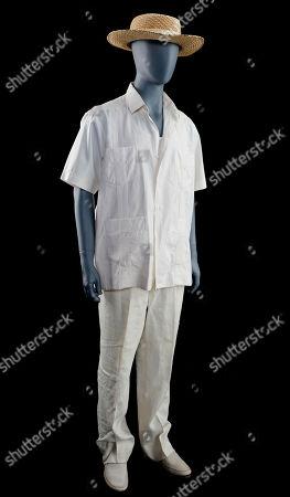 Stock Image of John Hammond's (Richard Attenborough) costume from Steven Spielberg's Academy Award-winning action adventure Jurassic Park. Estimate: £15,000 - £25,000.