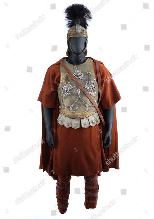 Stock Photo of Maximus' (Russell Crowe) screen-matched general armour from Ridley Scott's Academy Award-winning historical drama Gladiator. Estimate: £20,000 - £30,000.