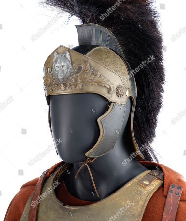 Maximus' (Russell Crowe) screen-matched general armour from Ridley Scott's Academy Award-winning historical drama Gladiator. Estimate: £20,000 - £30,000.