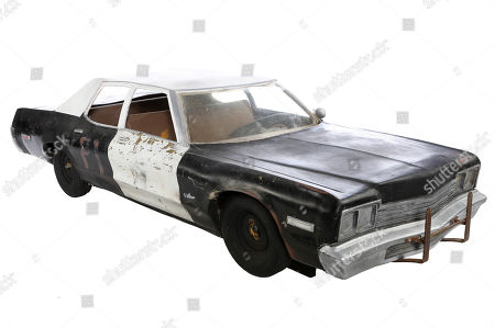 A Bluesmobile large-scale model miniature from John Landis' musical comedy The Blues Brothers. Estimate: £15000 - £25000.