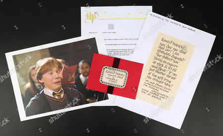 A howler letter used in Chris Columbus' fantasy-adventure sequel Harry Potter and the Chamber of Secrets. Estimate: £3000 - £5000.