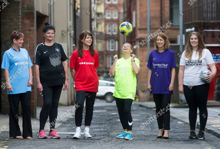 Editorial picture of Women's Football Festival photocall, Glasgow, Scotland, UK - 20 Aug 2019