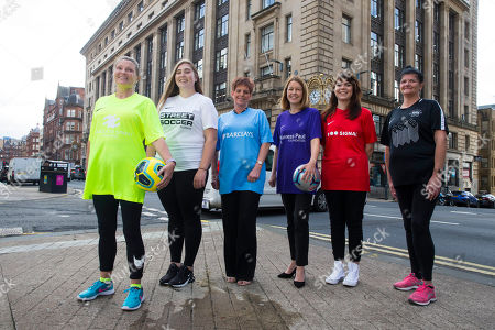 Editorial image of Women's Football Festival photocall, Glasgow, Scotland, UK - 20 Aug 2019