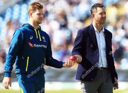 Editorial picture of England v Australia, 3rd Test, Day 2, Specsavers Ashes Series, Cricket, Headingley Cricket Ground, Leeds, UK - 23 Aug 2019