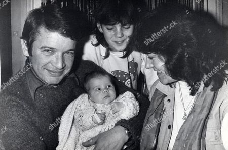 John Philby 37 Pictured With His Girlfriend Josephine Hardy 7 Week Old Daughter Charlotte Philby And Foster Daughter Elvina 12. John Is The Son Of Spy Kim Philby