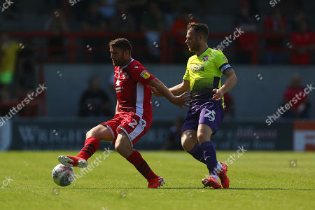 Editorial picture of Morecambe v Exeter City, EFL Sky Bet League Two, Football, Globe Arena Stadium, UK - 24 Aug 2019