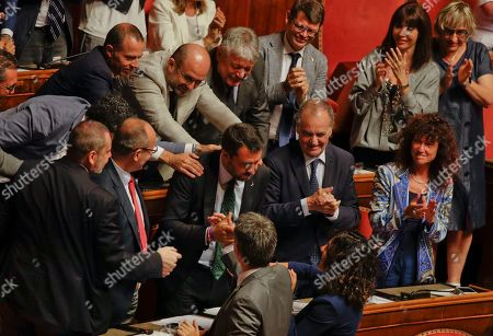 Editorial image of Politics, Rome, Italy - 20 Aug 2019