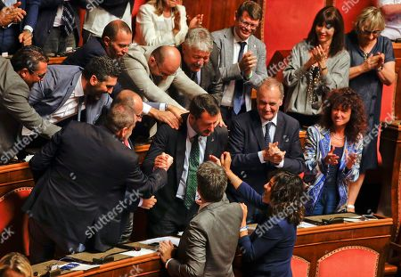 Editorial photo of Politics, Rome, Italy - 20 Aug 2019