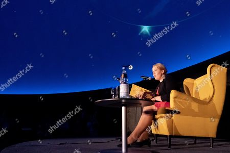 Editorial photo of Book reading by German Minister of Family Affairs Giffey at Zeiss Major Planetarium in Berlin, Germany - 20 Aug 2019