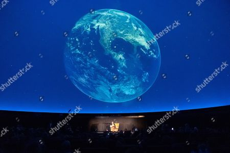 Editorial picture of Book reading by German Minister of Family Affairs Giffey at Zeiss Major Planetarium in Berlin, Germany - 20 Aug 2019