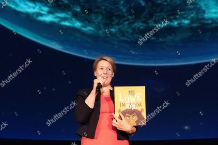 Editorial image of Book reading by German Minister of Family Affairs Giffey at Zeiss Major Planetarium in Berlin, Germany - 20 Aug 2019