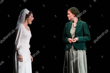 Sydney Mancasola (Bess McNeill) and Wallis Giunta (Dod McNeill).