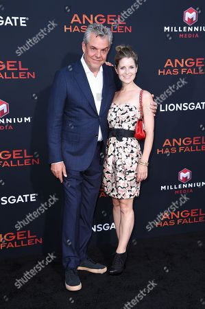 Danny Huston and Rosie Fellner