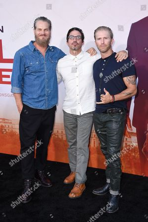 Brian Van Holt, Maurice Compte and Kaiwi Lyman