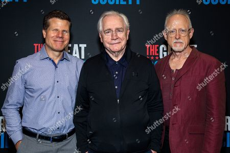 Stock Picture of Bill Rauch, Brian Cox and Robert Schenkkan