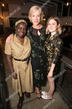 Joy Richardson (Charley), Juliet Stevenson (Ruth Wolff) and Ria Zmitrowicz (Sami)