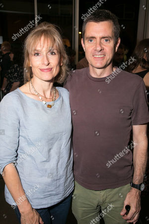 Stock Photo of Amelia Bullmore and Paul Higgins (Ensemble)