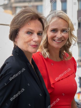 Stock Image of Jacqueline Bisset and Claire Borotra