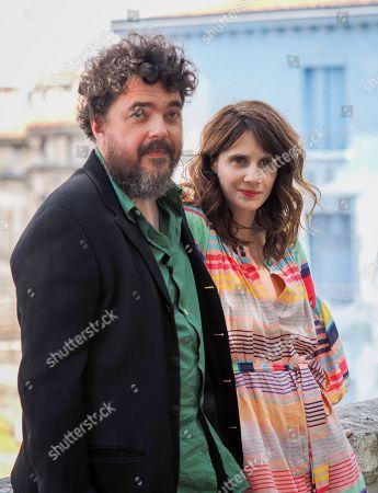 Stock Photo of Stephane Batut and Judith Chemla