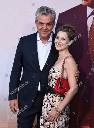 "Stock Photo of Danny Huston, Rosie Fellner. Danny Huston, left, and Rosie Fellner arrive at the Los Angeles premiere of ""Angel Has Fallen"" at the Regency Village Theatre on"