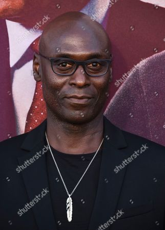 "Lance Reddick arrives at the Los Angeles premiere of ""Angel Has Fallen"" at the Regency Village Theatre on"