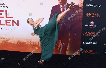 "Jessie Graff arrives at the Los Angeles premiere of ""Angel Has Fallen"" at the Regency Village Theatre on"