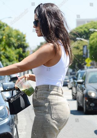 Editorial image of Kourtney Kardashian out and about, Los Angeles, USA - 20 Aug 2019