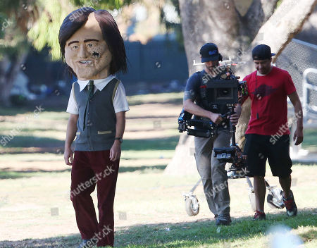 Editorial image of 'Kidding' TV Show on set filming, Los Angeles, USA - 20 Aug 2019